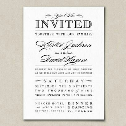 Dinner And Dance Wedding Invitation Message Wedding Invite Wording Funny Wedding Invitations Examples