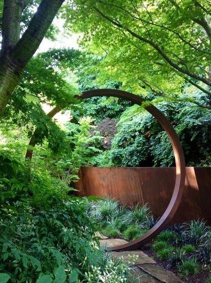 Japanese Garden Ideas Zen Moon Gate