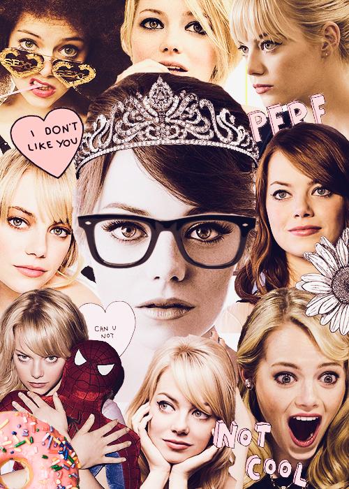 fab collages | Emma stone, Emma, Stone