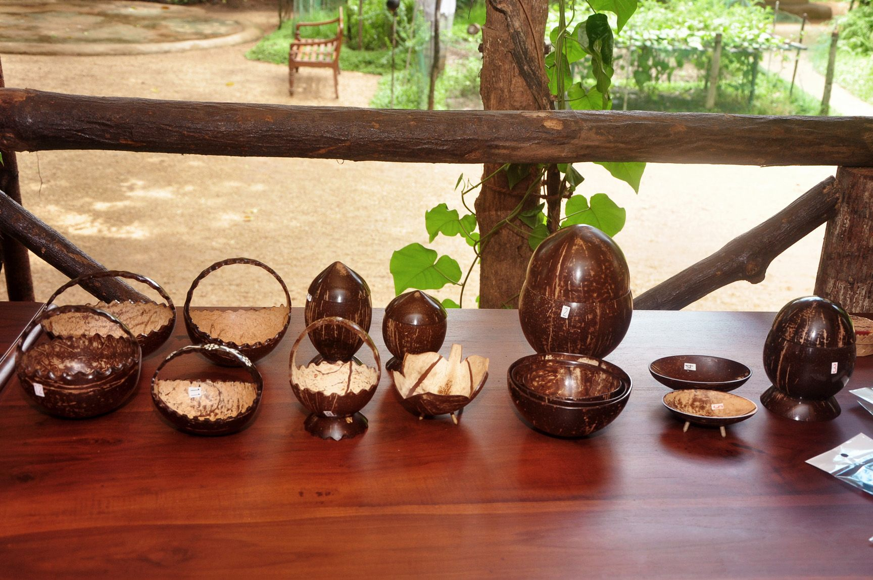 Coconut shell products by G H  Methsiri Piyananda  Sri