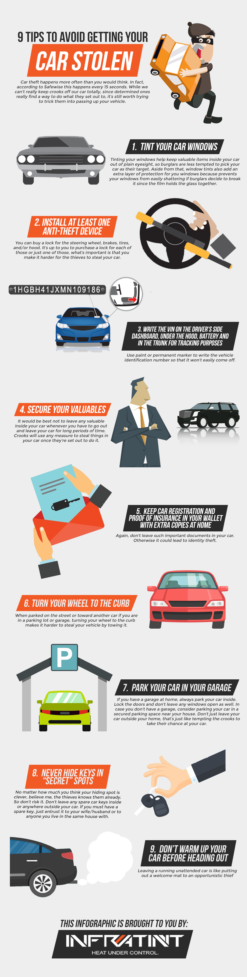 Car Theft Happens More Often Than You Would Think In Fact According To Safewise This Happens Every 15 Seconds While We C Window Tint Film Car Tinted Windows