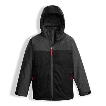 e460c4251356 The North Face Boys  Chimborazo Triclimate Hooded Rain Fleece-lined Jacket   Kids