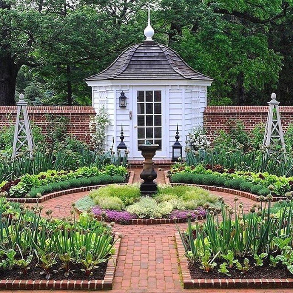 Adorable 35 Perfect Garden House Design Ideas For Your ...