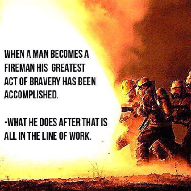 When a man a fireman... Shared by LION (With