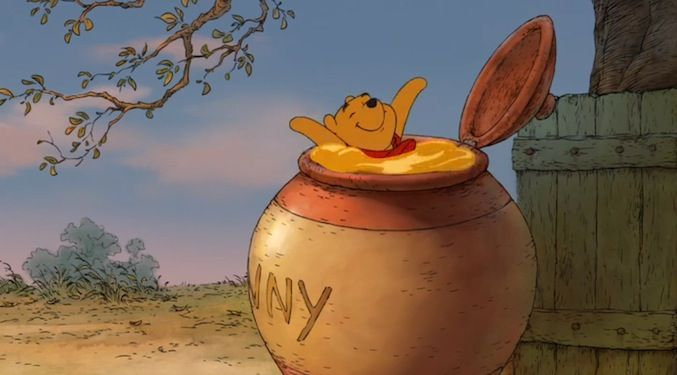 Probably my most favoritest picture of Winne-the-Pooh EVER!