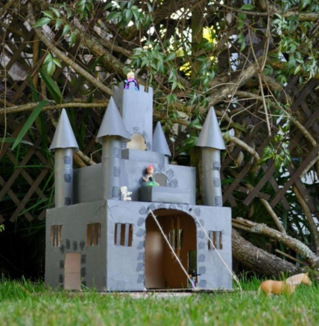 Making a Castle Made of Cardboard | As, Of and Castles