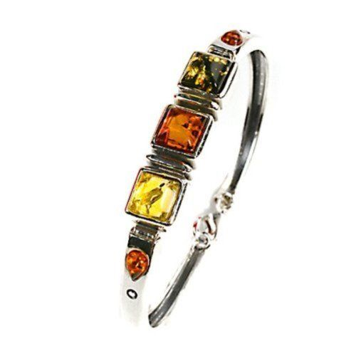 Amber Sterling Silver 925 Fairy Pendant Ian and Valeri Co