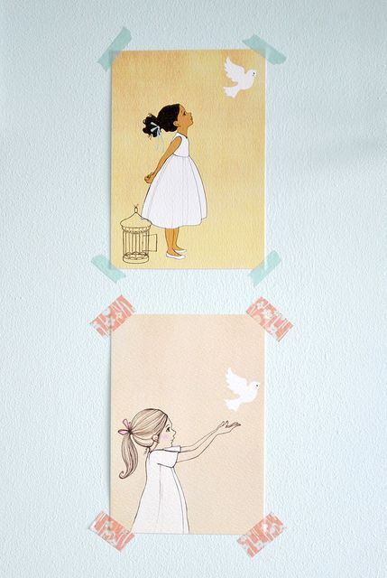 Wall art for girls room