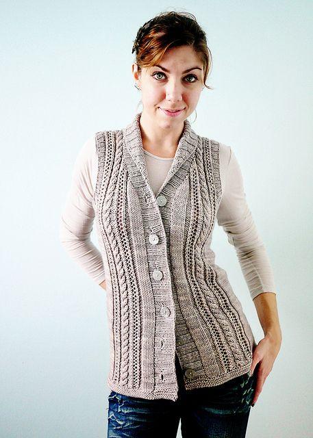 gaminemodeled | Yarns, Ravelry and Vest pattern