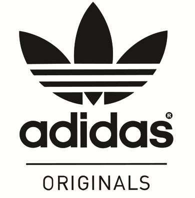 adidas black and white originals logo - Google Search