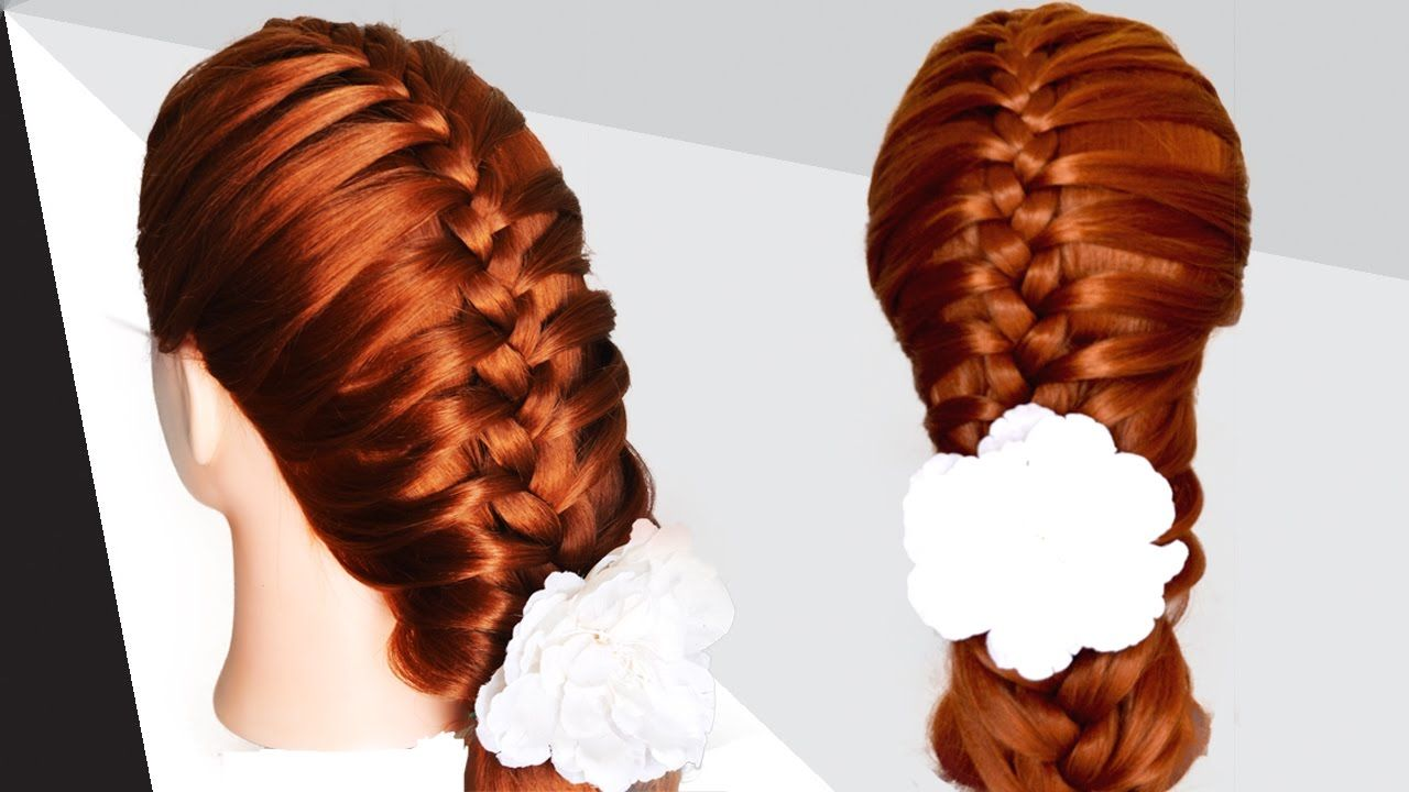 Easy braids for medium hair for teenagers hairstyles for long hair