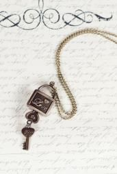 Timeless Love Key and Lock Necklace #necklaces #accessories #boutique