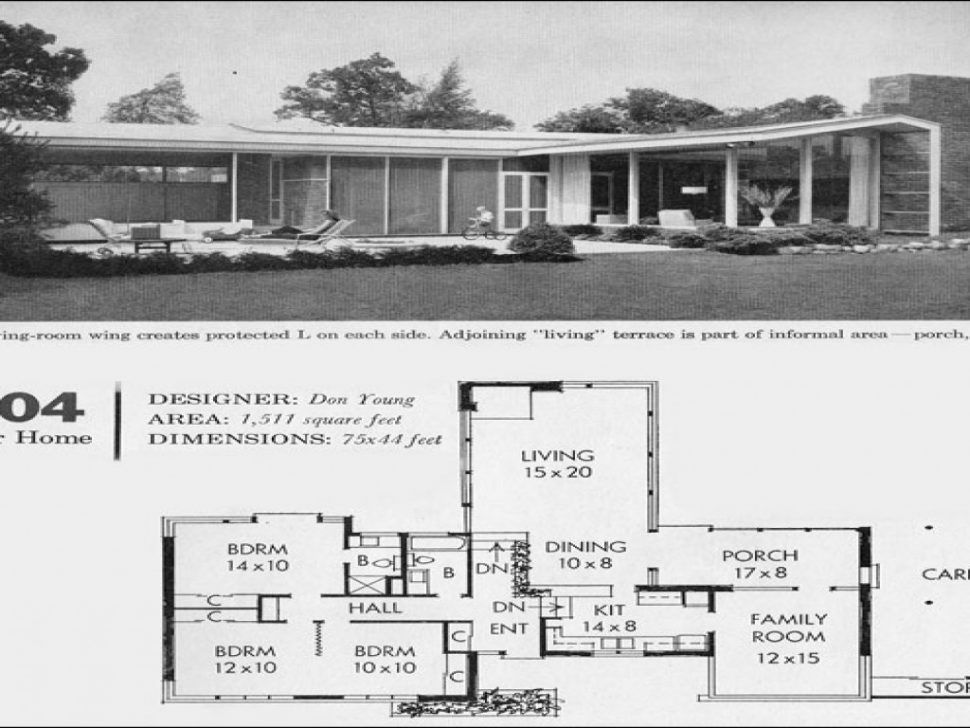 24 1950s modern house plans arts affordable mid century home best floor plan kitchen lrg a40fbe855d4 florida australia online designs updated free - 1950s Modern House Floor Plans