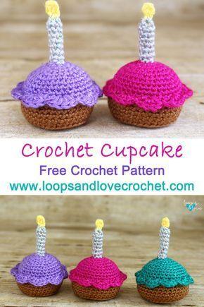 Crochet Cupcake Loops & Love Crochet