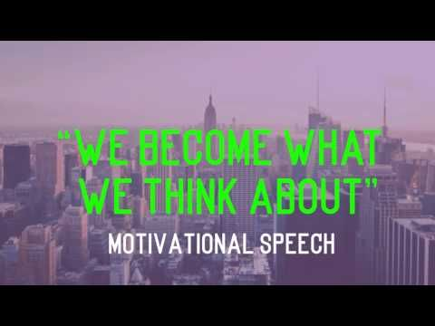 You Become What You Think About - Vic Johnson - YouTube