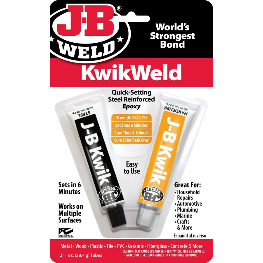 Reported To Be An Alternative Welding J B Weld 2 Oz Epoxy Adhesive At Lowes
