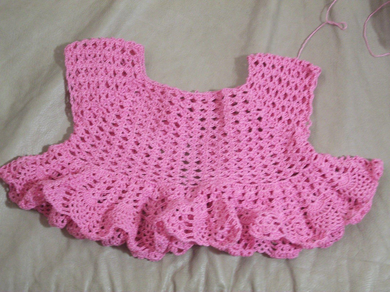 TOC-TOC NA CUCA: Como fazer vestido de crochê infantil - algumas dicas e receitas