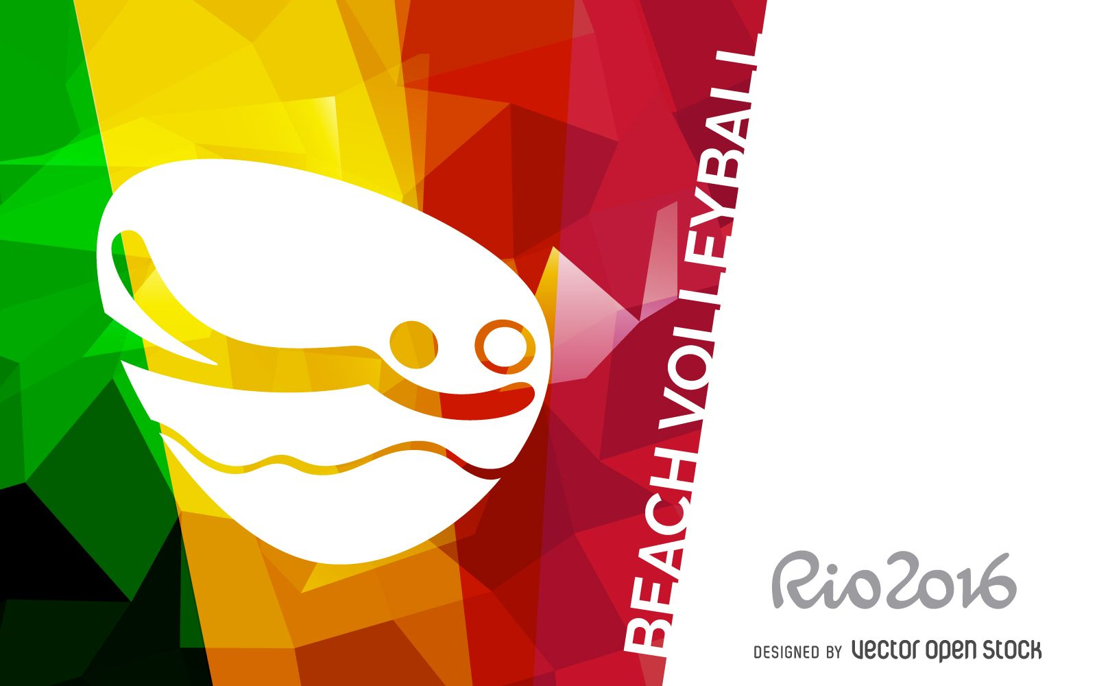 Rio 2016 Beach Volleyball Banner Beach Volleyball Rio 2016 Volleyball
