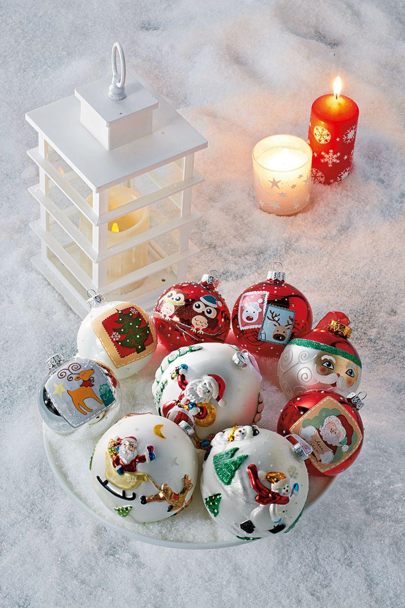 Boule De Noel Transparente A Decorer se rapportant à une jolie sélection de boules de noël ! | truffaut - c'est noël