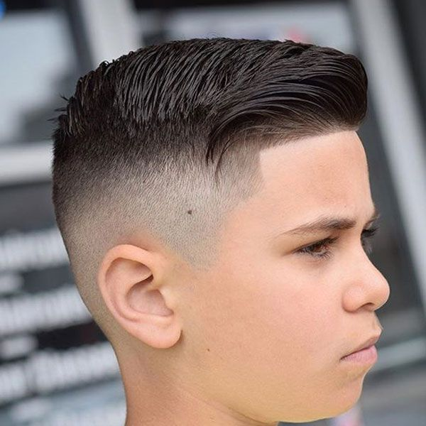 what does a taper haircut look like