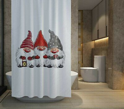 HOT SALE Merry Christmas Santa Shower Curtain size 60x72  72x72