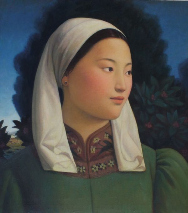 Mongolia Girl | Other works in Painting