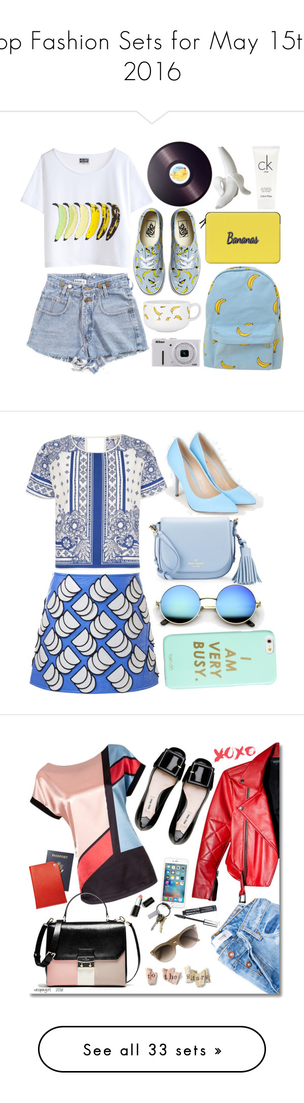 """Top Fashion Sets for May 15th, 2016"" by polyvore ❤ liked on Polyvore featuring Chicnova Fashion, Vans, Casetify, Joseph Joseph, Jonathan Adler, Nikon, Calvin Klein, River Island, Courrèges and JustFab"