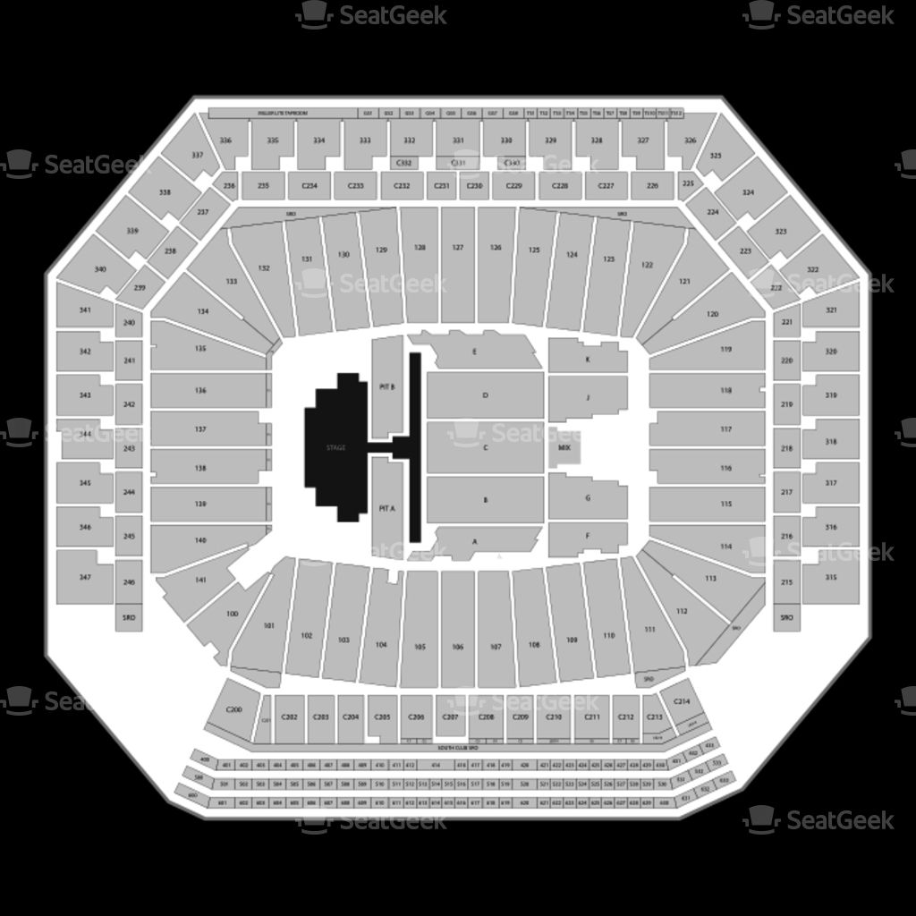 The Amazing And Also Interesting Ford Field Seating Chart Concert