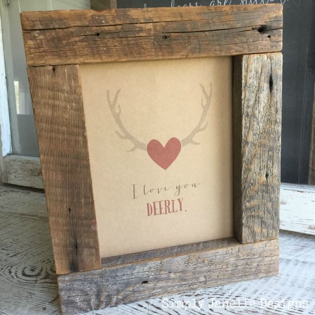 Valentine S Day Ideas And Giveaway Barn Wood Signs Reclaimed Barn