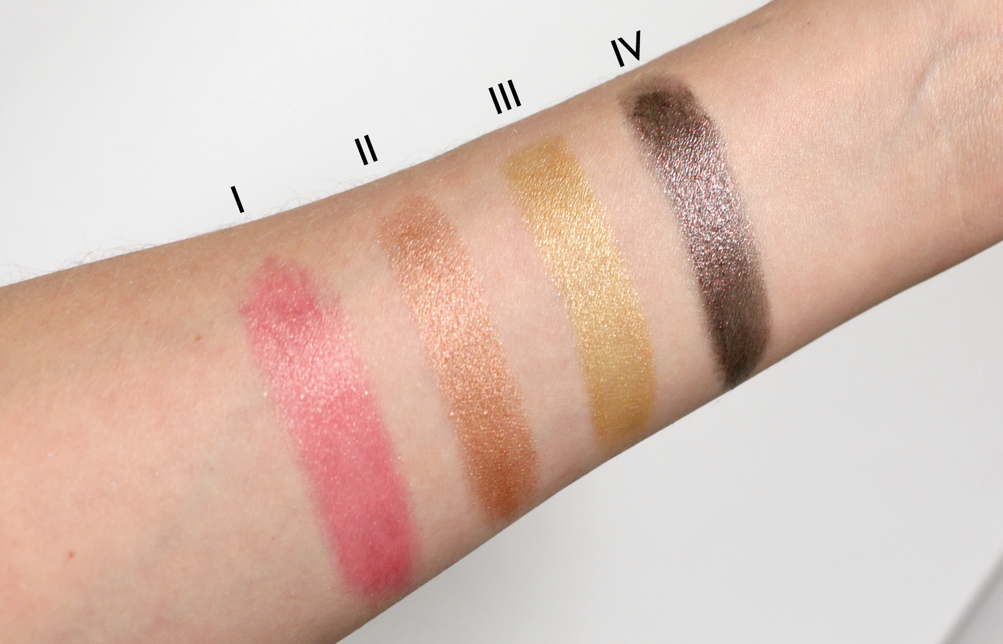 MAC Star Trek Collection. I: Where No Man Has Gone Before II: The Enemy Within III: LLAP IV: Kling-It-On http://www.revelist.com/makeup/mac-star-trek-swatches/3678/And here are the swatches./14/#/14
