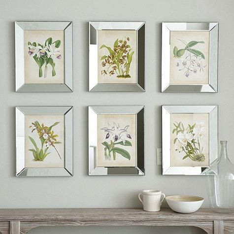 orchids in mirror frames - Mirror Picture Frames