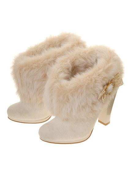 i so want these ,,Winter Wedding Boots - love these but not sure ...