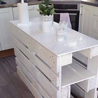 Kitchen Island Made With Pallets kitchen island made from pallets | pallet projects: | pinterest