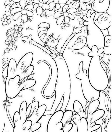 dr seuss coloring page free | Coloring Board | Pinterest