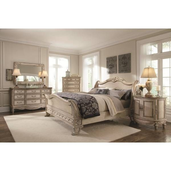 good Bedroom Sets San Antonio Part - 3: Empire II Sleigh King Bed | Schnadig | Star Furniture | Houston, TX  Furniture | San Antonio, TX Furniture | Austin, TX Furniture | Bryan, TX  Furniture ...