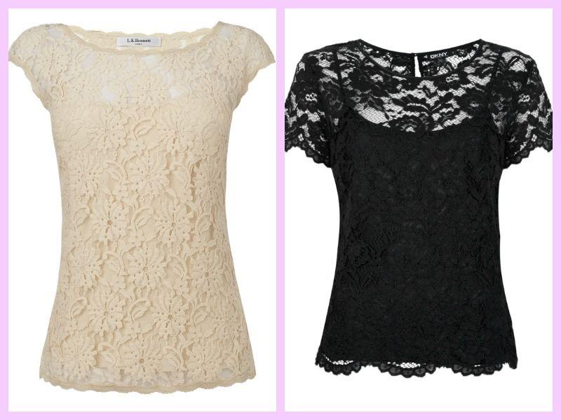15eefeea38aa modelos de blusas con blonda - Buscar con Google | ropa | Blusas en ...