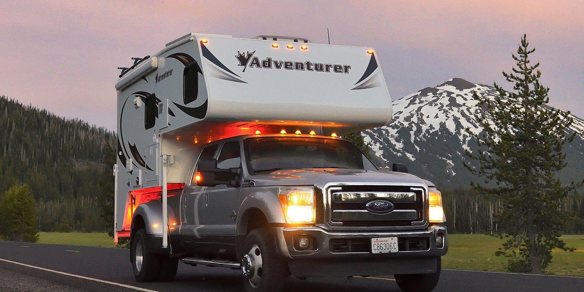 Truck Campers Adventurer A Premium Truck Camper Truck Camper