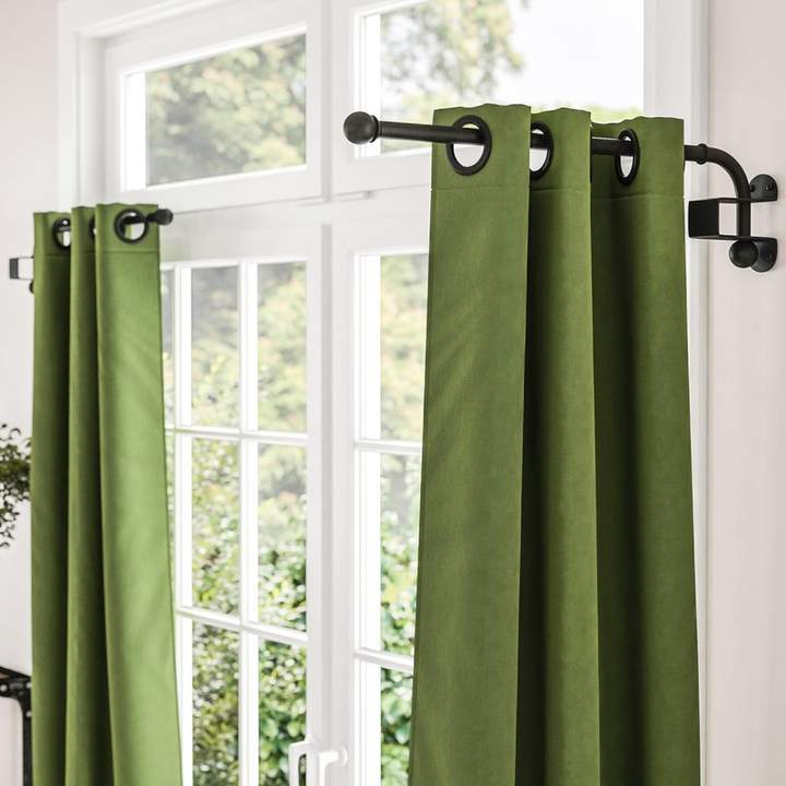 Zipcode Design Verdell Curtain Swing Arm Curtain Rods Cafe