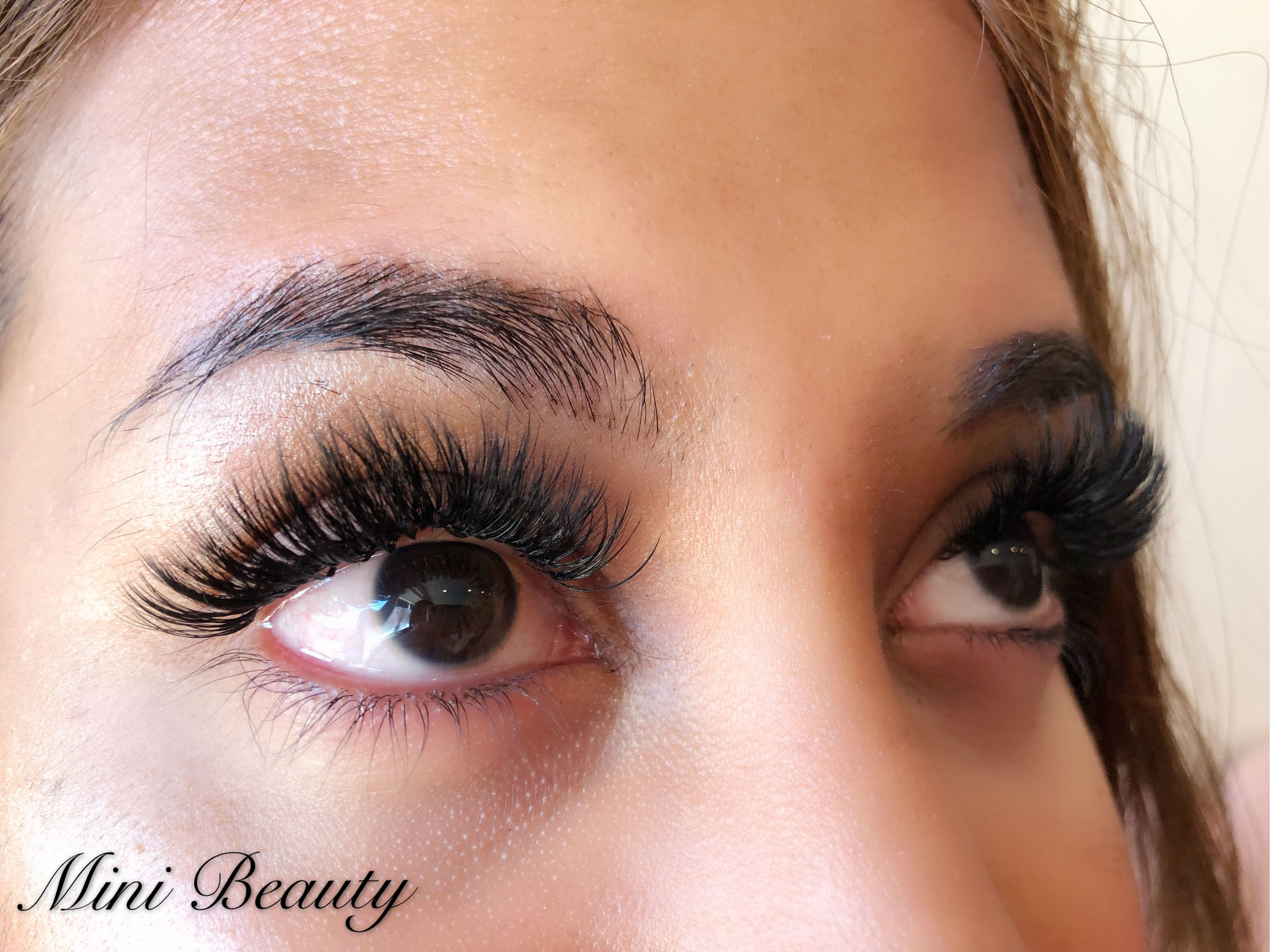8b0cc3124c5 4D Volume lashes @ Mini Beauty Eyelash Volume Lashes, Eyelash Extensions,  Eyelashes, Human