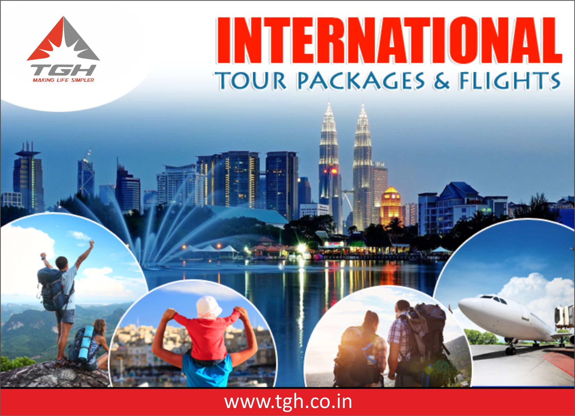 TGH Offers best Deals on International Tour packages
