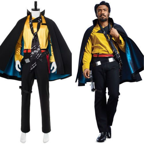 Details about New Star Wars Story Lando Calrissian Cosplay ...