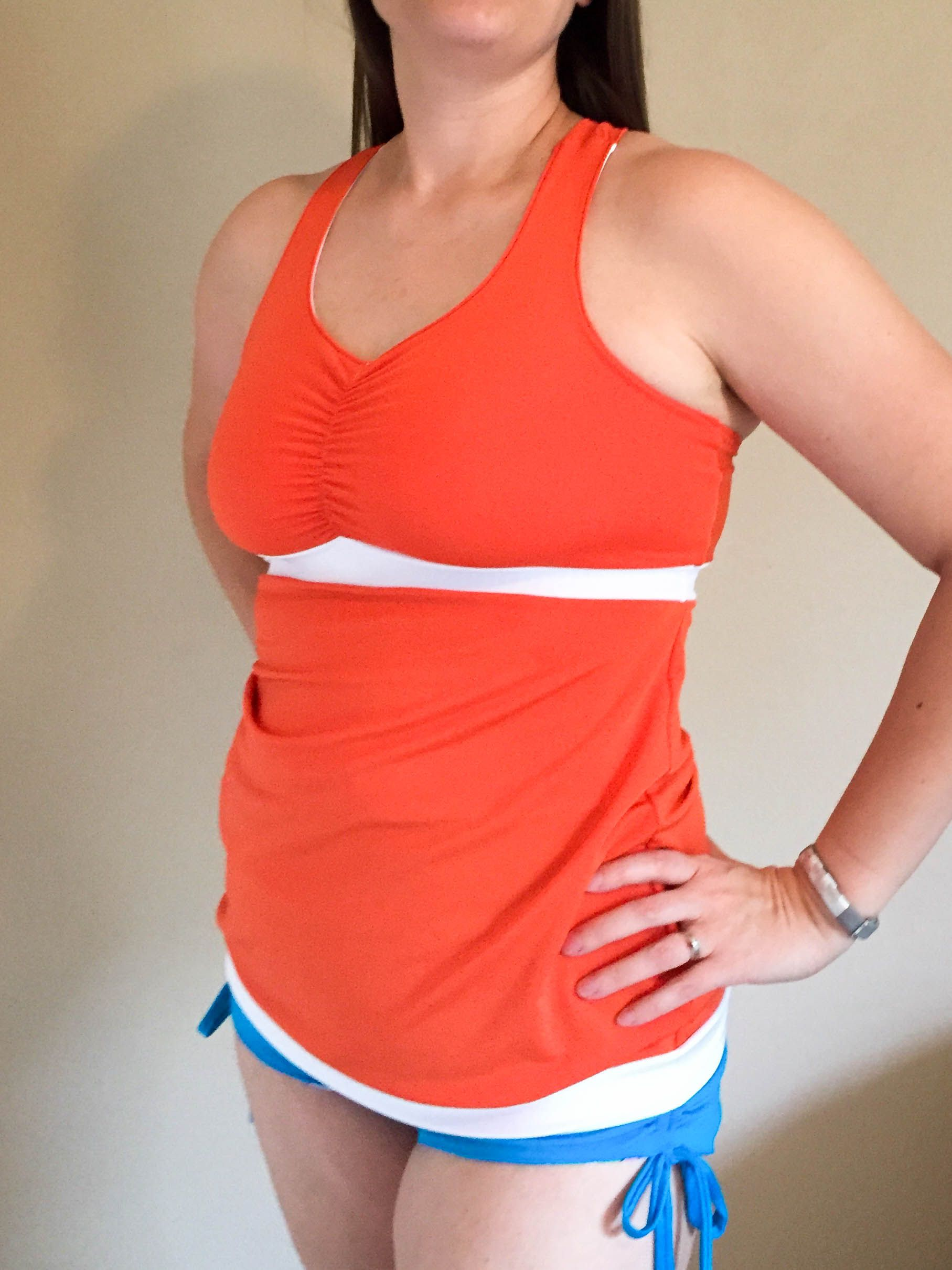 PDF sewing pattern for a women\'s bra, tank, dress, and maxi. You can ...