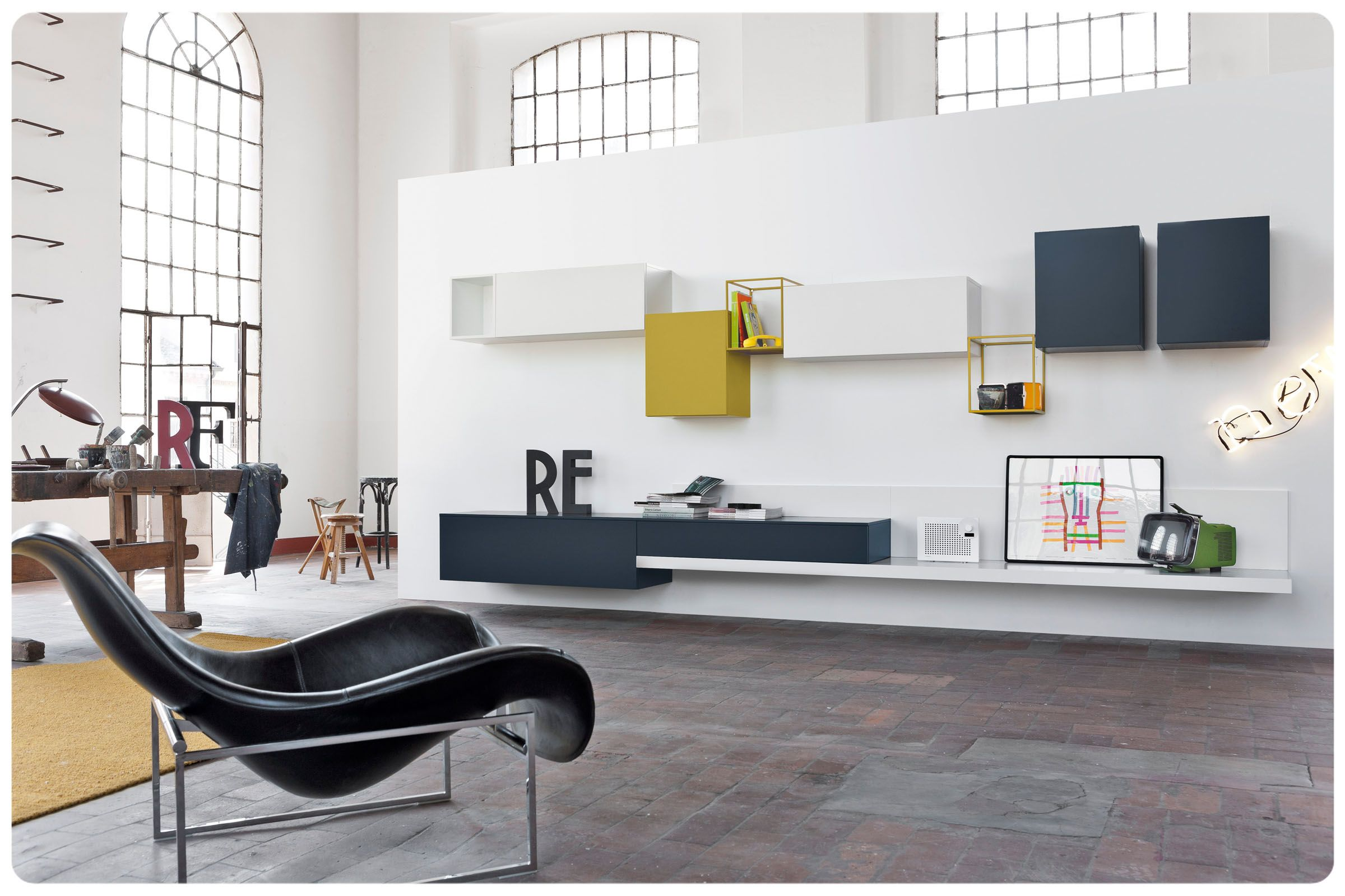 Soggiorno componibile moderno SR12 | furniture | Pinterest ...