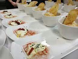 Mozzarisella e crema di lenticchie http://www.lacucinaverde.it/menu ...