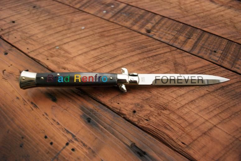 James Franco x LATAMA Limited Edition Switchblade