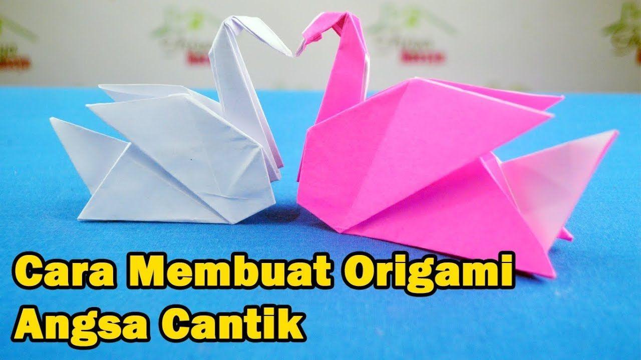 Origami Swan Origami Angsa Kreatif