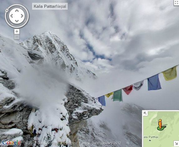 You can now trek up Mt. Everest using Google Maps //Ever wonder what Mt Everest Google Maps on google maps niagara falls, google maps pikes peak, google maps grand canyon, google maps paris, google maps antarctica, google maps africa, google maps hong kong, google maps mount etna, google maps nepal, google maps himalayas, google maps mount rainier, google maps tibet, google maps mount hood, google maps solar eclipse, google maps mt. whitney,