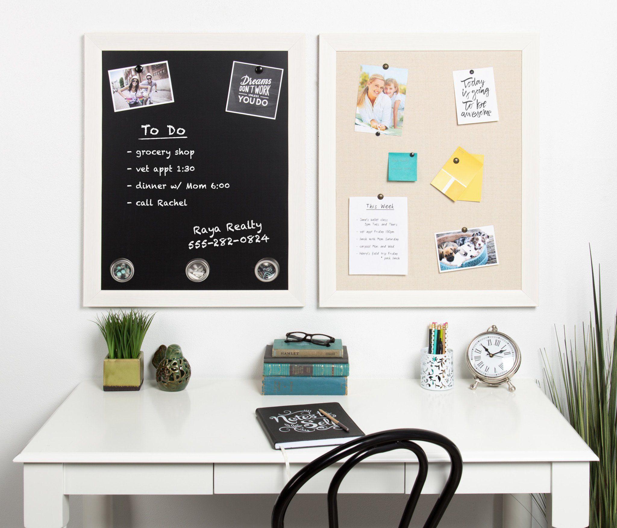 Beatrice Framed Magnetic Chalkboard Framed Magnetic Chalkboard Office Wall Organization Magnetic Chalkboard