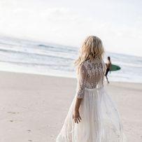 Pinterest : 40 robes de mariage pour se marier à la fin de l'été Une robe de mariée romantique