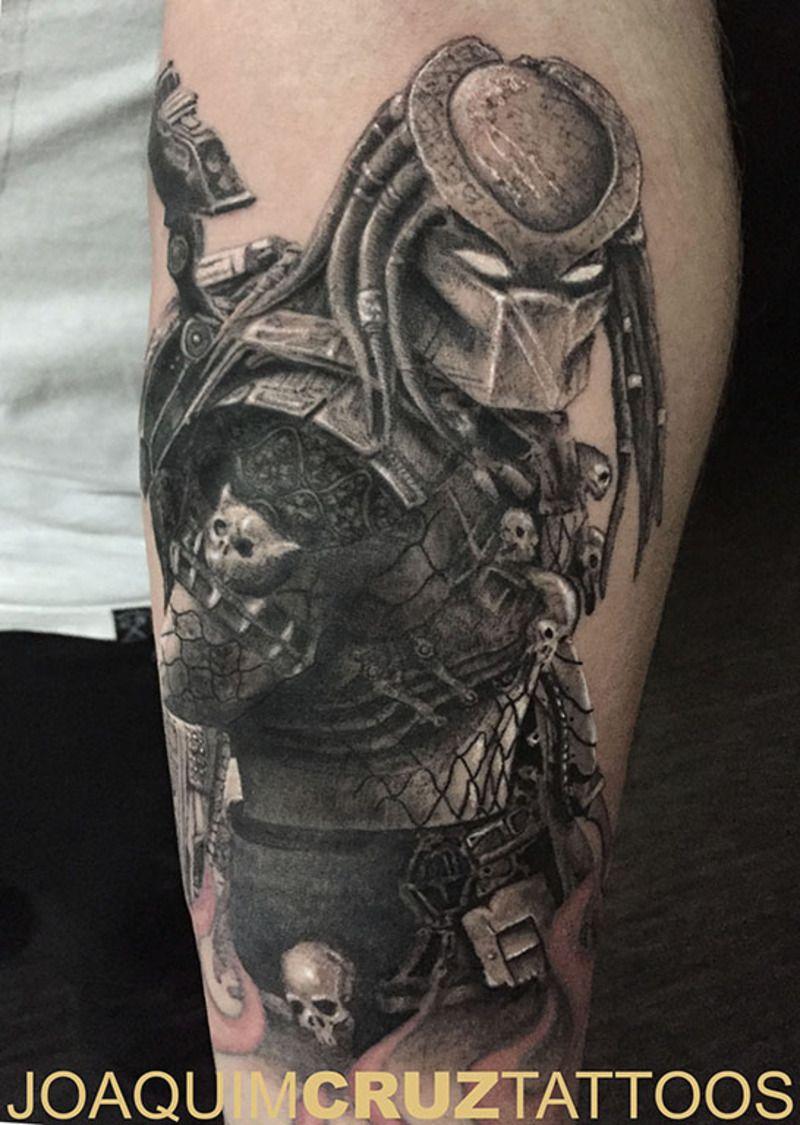 80a465b91 Predator tattoo | Tattoos | Predator tattoo, Manga tattoo, Sleeve ...